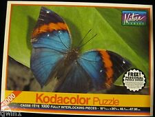 MALAYAN LEAF BUTTEFLY BRAND NEW AND SEALED 1000 PIECE KODACOLOR PUZZLE E-81