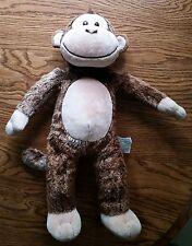Brown Monkey Gorilla Stuffed Animal Plush Build-A-Bear Talking Toy MAKES SOUNDS!