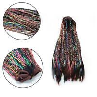 Wig Elastic Hairband Ties Headbands For Women Twist Rubber Braid Bands Girl Q5X9