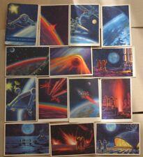 Star Way 16 Cosmic Space Satellite Rocket Planet Station Man Cosmos 1966 PC Card