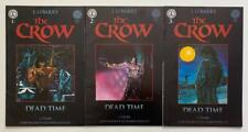 The Crow Dead Time #1 to #3 complete series (Kitchen Sink 1996) FN +/- condition