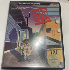 AGENT U.S.A. Commodore 64 Scholastic Wizware Disk Preowned