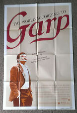 The World According to GARP 1982 authentic 1 sheet movie poster Robin Williams