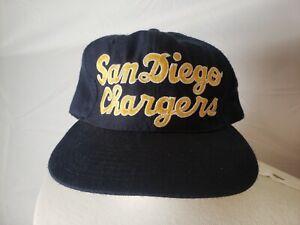 🚨🔥Vintage Original 80s Starter San Diego Chargers Hat Vintage Lettering! RARE