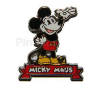 Rare Pin 85625 DLR 2011 Mickey Maus Artist Proof LE Only 25 made AP