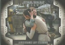 Star Wars Masterwork 2017 - LP-10 Evolution of the Rebel Alliance Chase Card