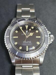 1966 Rolex Submariner Chronometre Ref. 5512 Meter First Divers 1.5 Million S/N