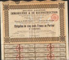 Société Immobilière et de Reconstruction (REIMS 51) (V)