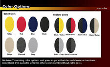 CHEVY SONIC 2012-2016 IGGEE S.LEATHER CUSTOM FIT SEAT COVER 13 COLORS AVAILABLE