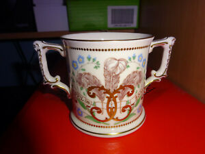 Charles & Camilla Wedding 9th April Royal Crown Derby China Loving Cup Lt. Ed.