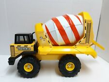 Hasbro Tonka Cement Mixer 2006 Steel Plastic Yellow USA