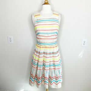 NEW M L Anthropologie Lilith Dress From Plenty by Tracy Reese Unique Last 1