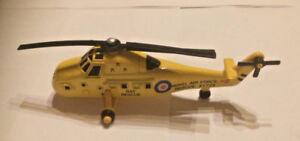 ERTL YELLOW WESTLAND WESSE RAF RESCUE HELLOCOPTER