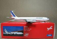 1:500 Herpa Wings Air France B707-300 F-BLLB #523059 Diecast metal plane