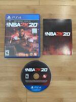 NBA 2K20 (Sony PlayStation 4, PS4) Basketball Video Game - Ships Same Day