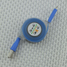 Blue& Charging LED Light Micro USB Data Charging Cable for Samsung S4 S3 S6 LG