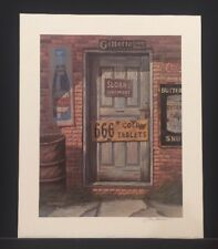 "Jim Harrison ""Signs of the Times"" Limited Edition Signed Only Print Advertising"