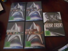 STAR TREK DER KINOFILM I bis IV + STAR TREK  5 DVDs Neuwertig