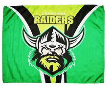 NRL CANBERRA RAIDERS FLAG Large 820 x 620mm NEW!