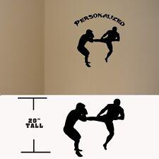 Kung Fu Personalized Martial Arts decal, Taekwondo Kung fu vinyl stickers