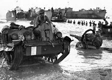 B&W WWII Photo British Bren Gun Carrier Sicily 1943 WW2 World War Two England