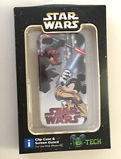 Disney Parks Star Wars Mickey Mouse Donald Duck iPhone 4s Clip Case Screen Guard