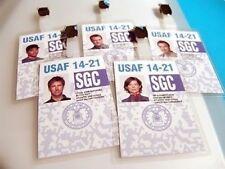 Stargate: Atlantis - SGC Security Pass Clip-on Prop ID Card Set