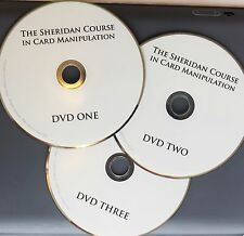 The Sheridan Course in Card Manipulation by Jeff Sheridan (3 DVD Set)