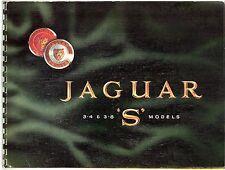 Jaguar S-Type 1964-67 UK Market Spiral Bound Sales Brochure 3.4 3.8 Litre