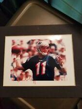 Drew Bledsoe AUTOGRAPHED New England Patriots 5x7 PHOTO