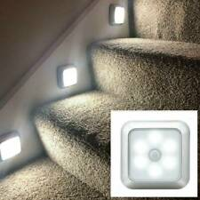 Night Light Motion Sensor Wall Closet Roof Cabinet Stair Wireless Lamp Light