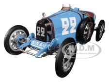 BUGATTI T35 #22 NATIONAL COLOUR PROJECT FRANCE LTD ED 1/18 MODEL BY CMC 100B004