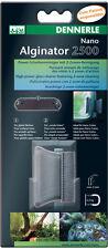 Algae Magnet Dennerle Nano Alginator 2500 -Glass Cleaner Nano Tropical Fish Tank