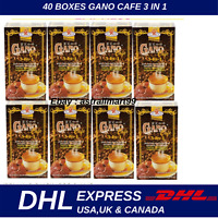 40 x Gano Excel Cafe 3 in 1 Coffee Ganoderma lucidum extract Relieve Stress Free