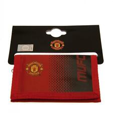 OFFICIAL MANCHESTER UNITED   WALLET NYLON  CRESTED    FREE (UK) P+P