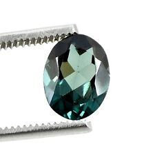 4.80 Cts Stunning Oval Indicolite Blue Green Tourmaline Loose Gemstone CR-973