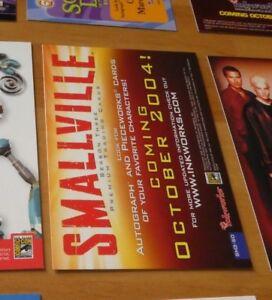 Smallville Season 3 Promo Card SM3-SD CARTE NM>MINT