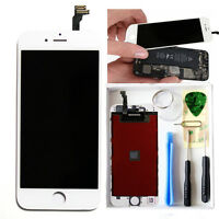 """Original White Touch Digitizer LCD Screen Assembly for iPhone 6 4.7"""" Replacement"""