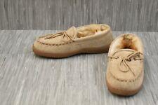 Old Friend Footwear Loafer Moccasin 421220 - Men's Size 10 Wide - Chesnut