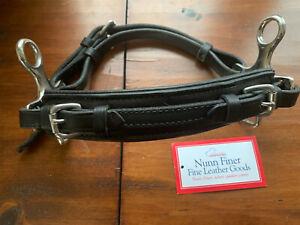 Nunn Finer Black Leather Hackamore