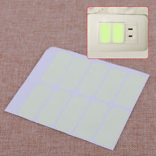 10PCS Light Wall Switch Stickers Vinyl Decal Glow In The Dark for DIY Home