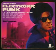 "THE LEGACY OF ELECTRONIC FUNK 2016 3CD 34x12"" Mixes The Finest & Rarest Masters"
