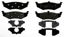 Disc Brake Pad Set-Semi Metallic Disc Brake Pad Rear ACDelco Pro Brakes 17D641M