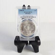 1983 Olympic Dollar PCGS MS70 ***Rev Tye's Stache*** #0136400