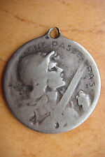 1916 Silver Verdun WWI France Military Medal Vernier Joan of Arc On Ne Passe Pas