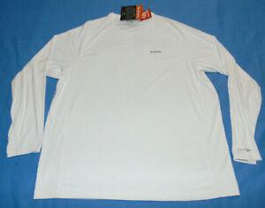 NWT Men's Simms Solarflex Fishing Long Sleeve T-Shirt UPF 50 White 3XL