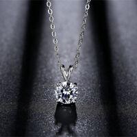 Fashion Crystal Rhinestone Charm Pendant Jewelry Chain Statement Choker Necklace