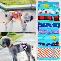 Dog Diaper Belly Band Male Wrap Reusable Washable Physiological Pants Underwear