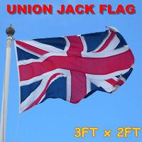 3*2FT Great Britain United Kingdom Union Jack Flag UK England British Banner