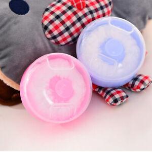 1x/2x Baby Puff Box Portable Talcum Powder Case Plush Children